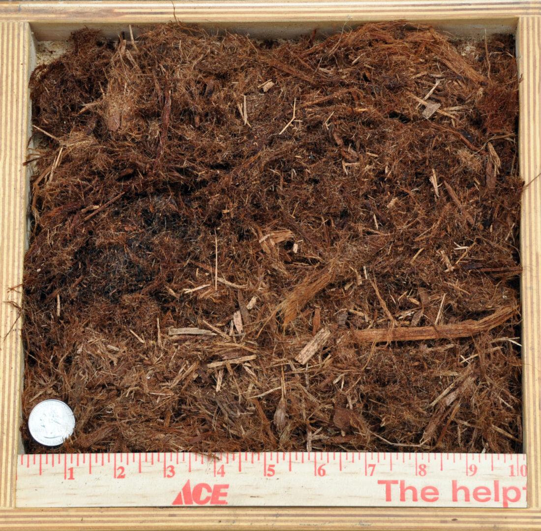 Shredded Bark Yard $45 1/2 Yard $27 U-Bag $5